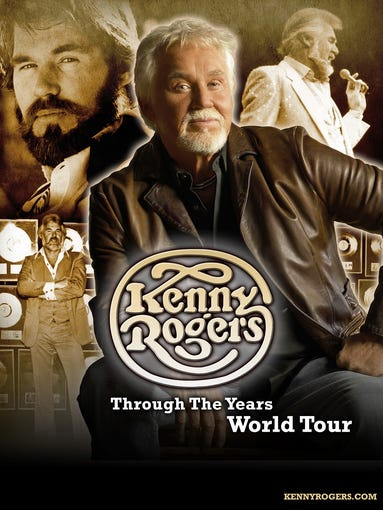 Kenny Rogers - July 31, 2015 8 p.m. $60-$80