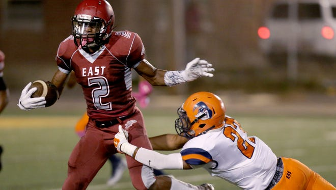Qwynnterrio Cole and East are playing for a state title for the first time since 1999.