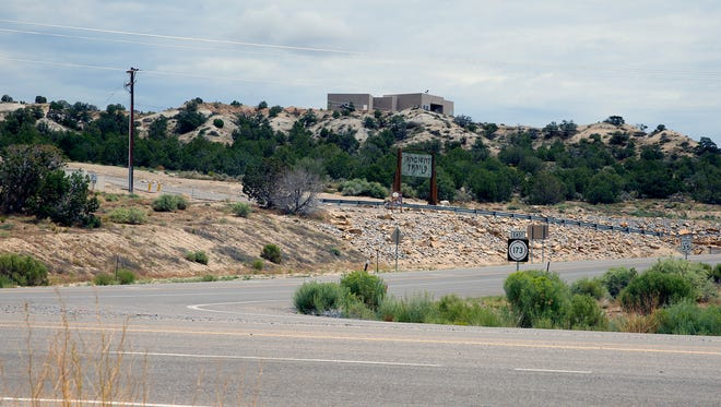 The intersection of New Mexico Highway 173 and Old Spanish Trail is pictured, Monday, July 31, 2017, in Aztec.