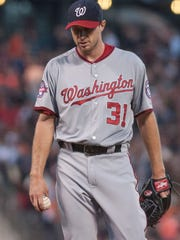 Nationals ace Max Scherzer bottomed out in a rough