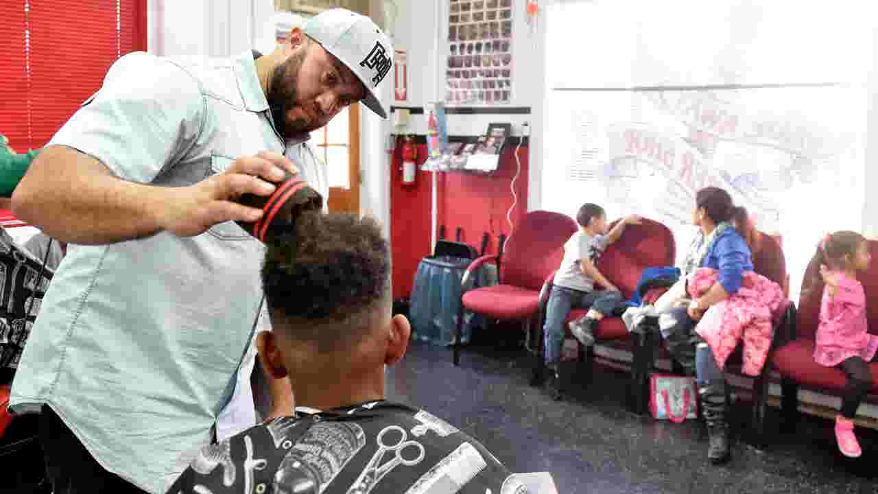 Watch: Turn in a good report card, get a free haircut