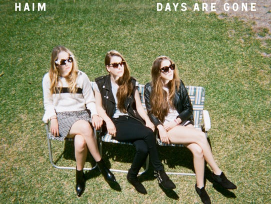 'Days Are Gone' by Haim album cover