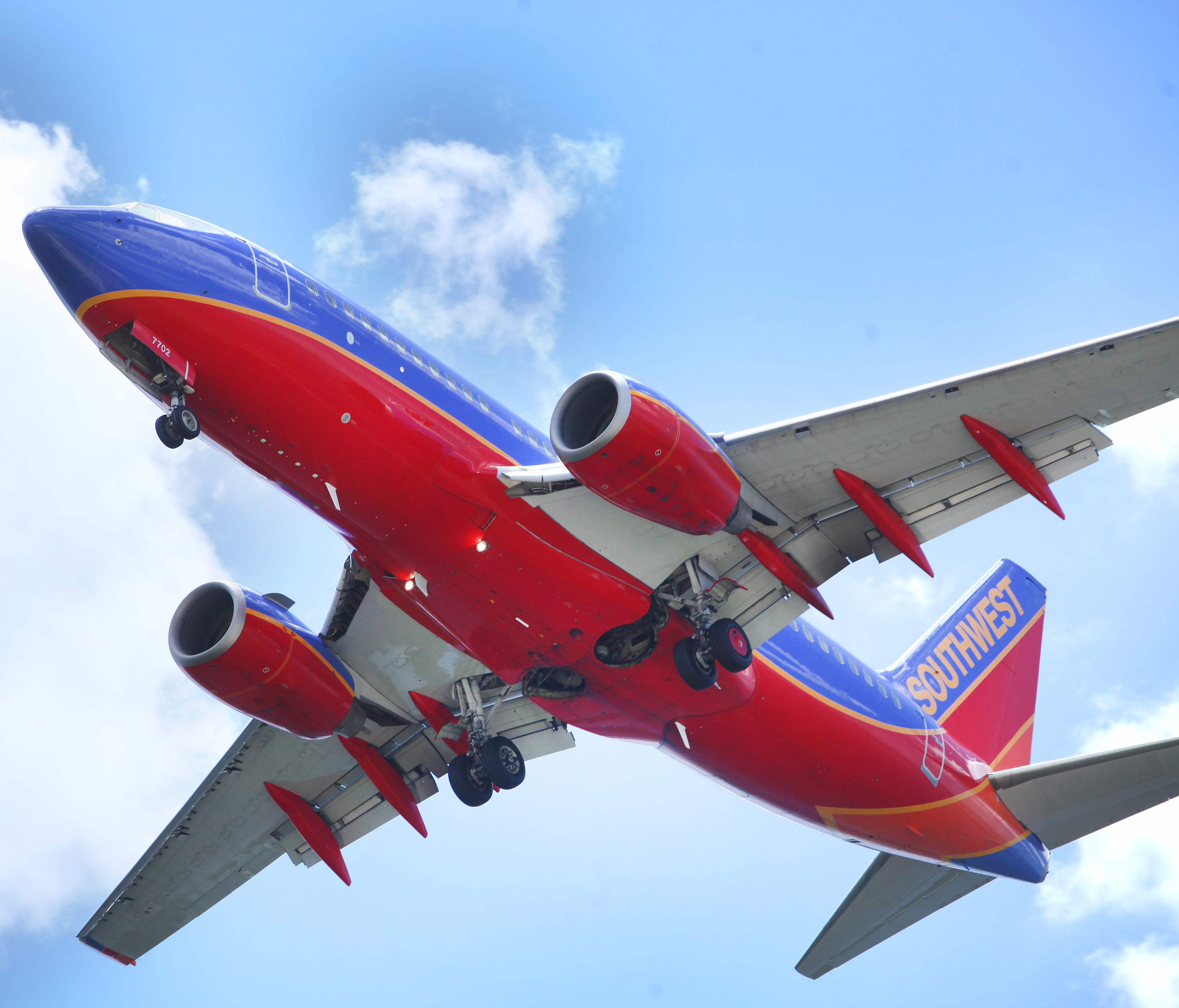 This file photo from June 6, 2016, shows a Southwest Airlines Boeing 737 on approach to Tampa International Airport.