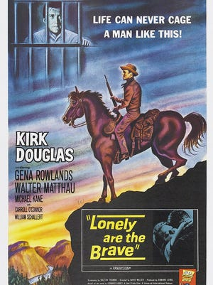 The Lonely are the Brave poster,