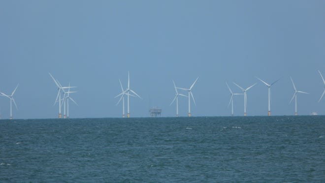 Thanet Offshore Wind Farm, the third largest wind farm in the world, is located in the United Kingdom.