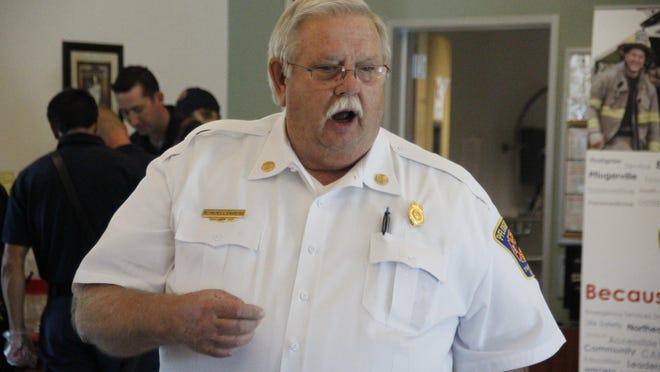Pflugerville Fire Department Chief Ron Moellenberg