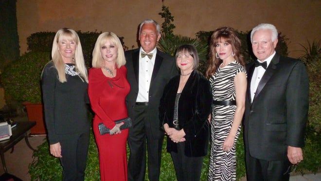 From left: Malinda Bustos, Lindz Sangalli, Scott Sangalli, Cindy Williams, Melanie Scherer, Richard Scherer.