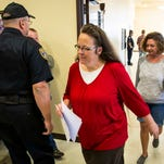 Controversial clerk Kim Davis met with Pope Francis