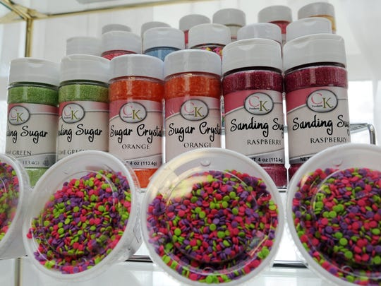 Candy Cottage offers a variety of sprinkles, cookie cutters and other candy and cake making items, as well as freshly made candies. The store will be moving to a new location at the Shoppes at Fair and Ety this summer.