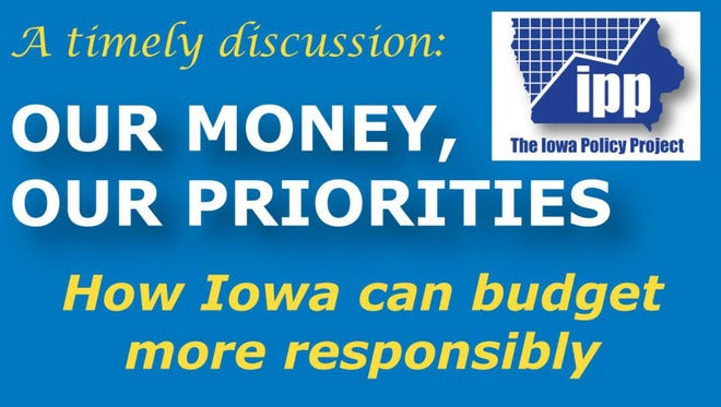 The Iowa Policy Project is hosting an event at Warren County, which aims to educate tax payers on where their taxes go and how they're spent.