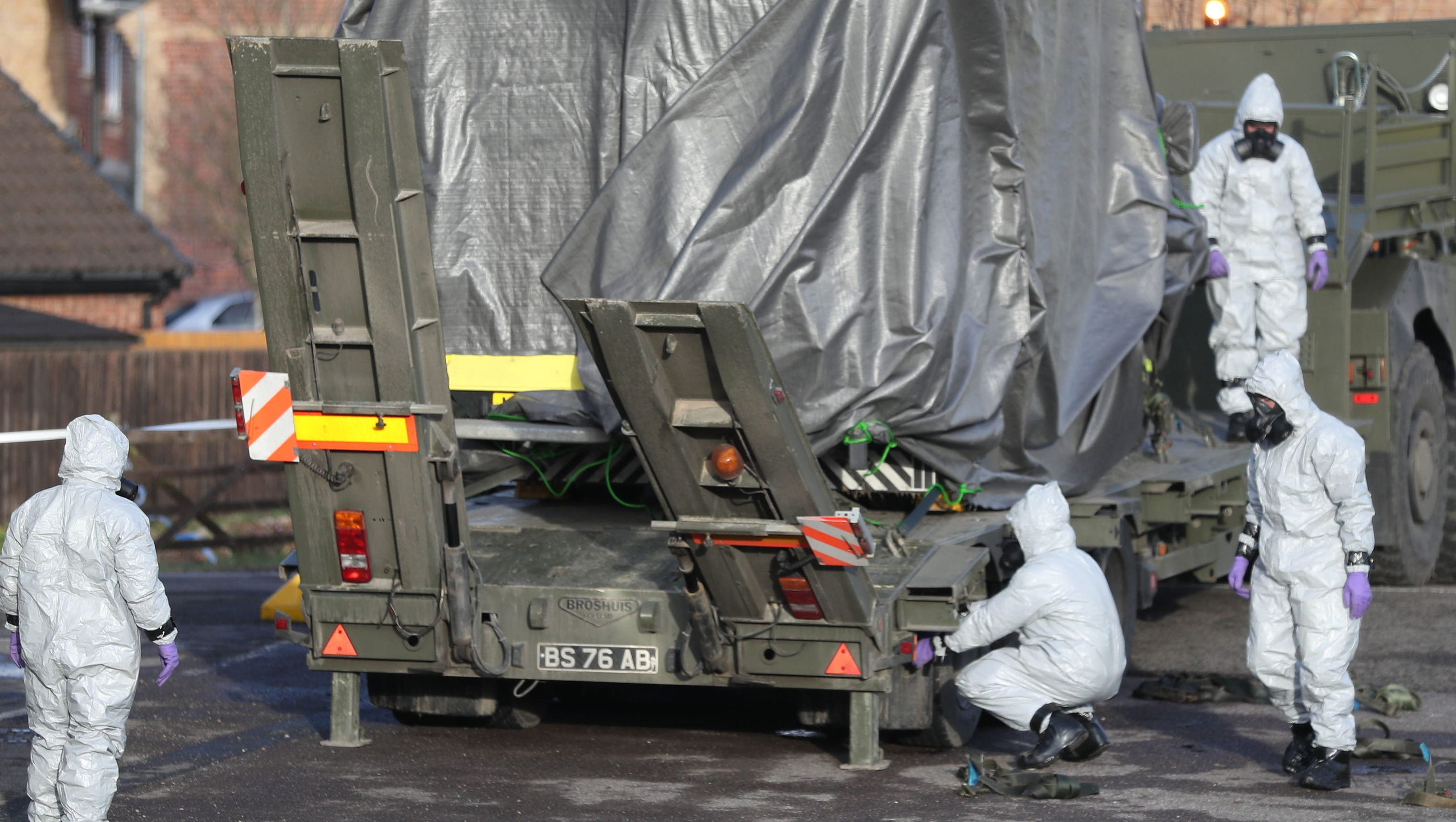 U.K.: Diners may have been exposed to nerve agent attack