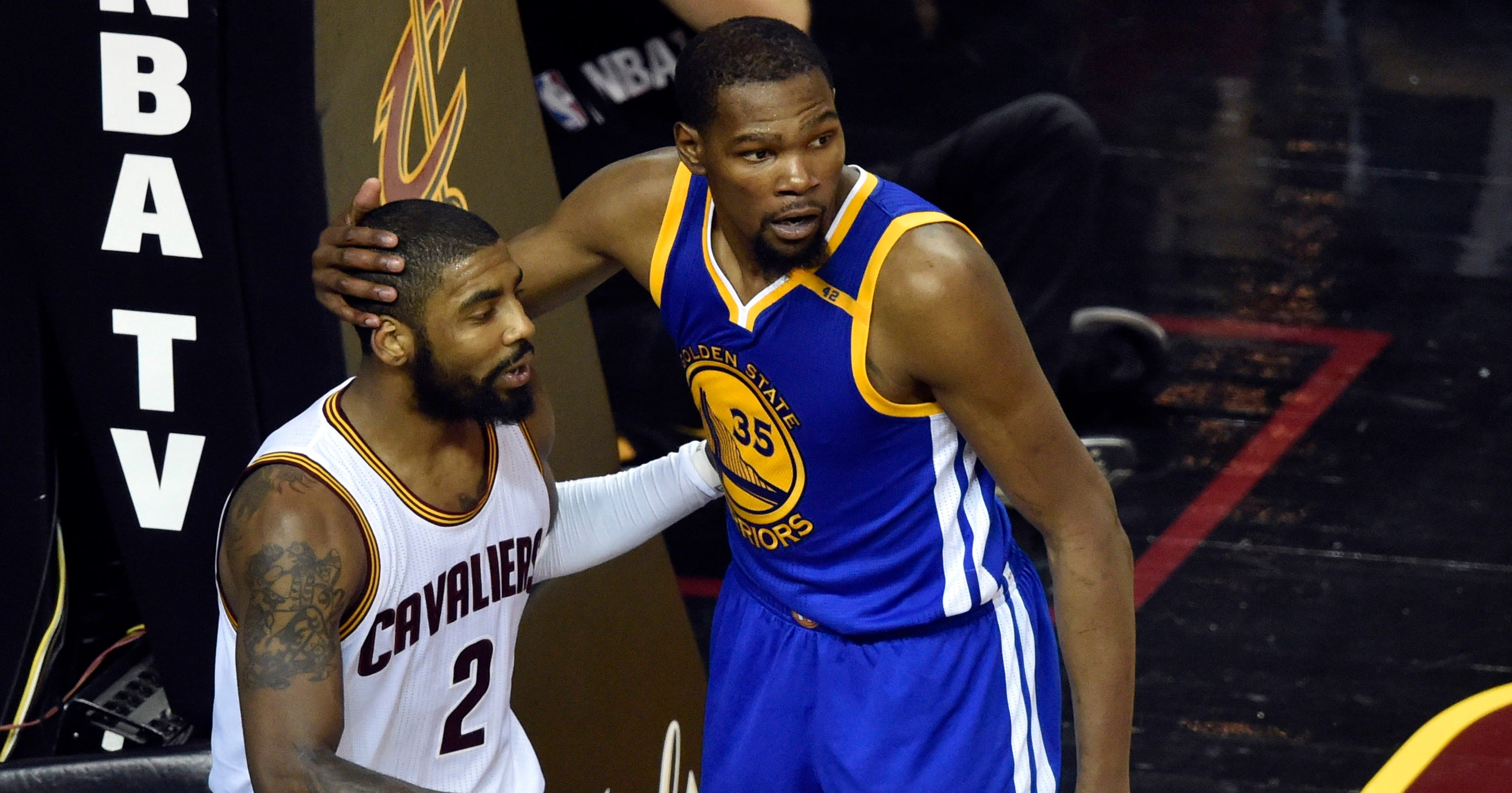 42062601f376 Kevin Durant  Kyrie Irving  stood up for himself  with trade request