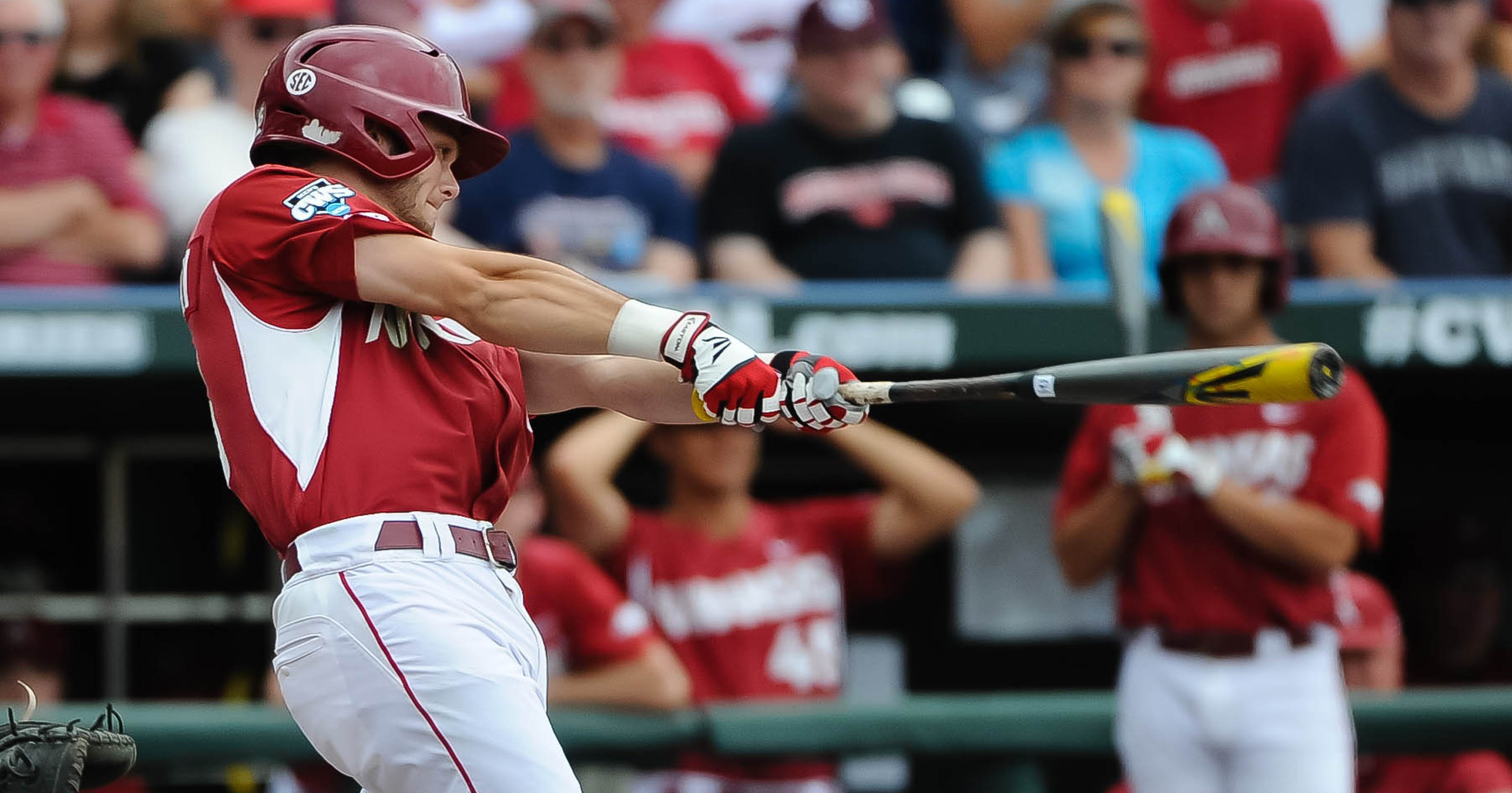 8a5f438dc Arkansas  Benintendi named winner of Golden Spikes Award