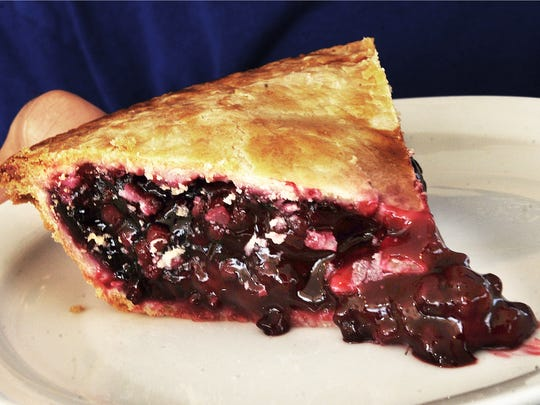 Boysenberry pie is on the menu at Danny's Deli & Grill
