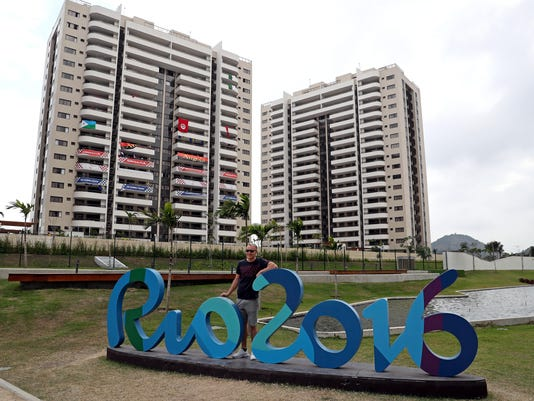 Olympics: Athlete Village Tour