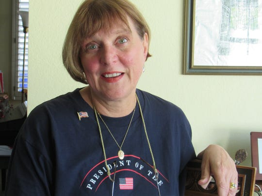 Deborah Baber Savalla of Port Hueneme thinks Donald Trump's election has energized his supporters to speak out.