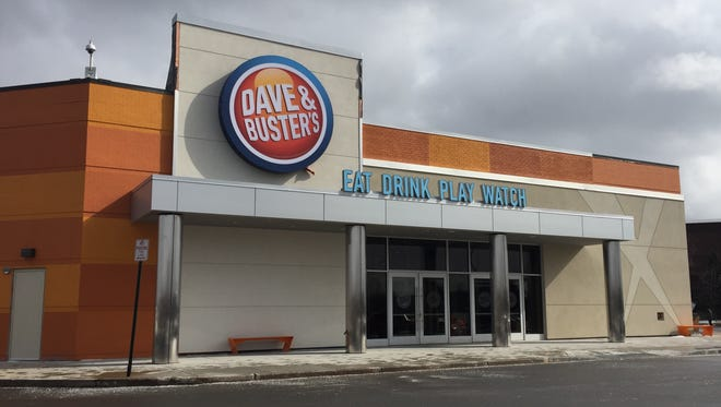 Dave & Buster's at Marketplace Mall in Henrietta.