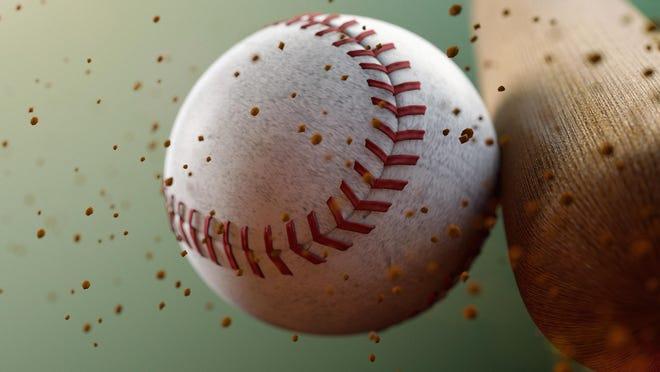 Bat and baseball