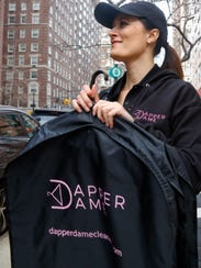 Reilly Starr, founder and president of Dapper Dame,