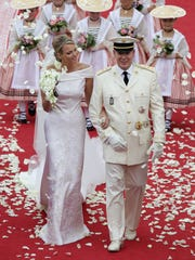 Princess Charlene of Monaco and Prince Albert Of Monaco