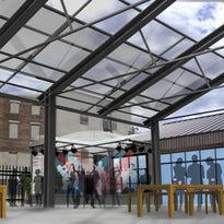 A rendering shows what the inside of the OTR Stillhouse will look like.