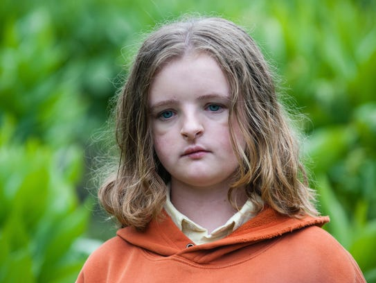 "In ""Hereditary,"" Charlie (Milly Shapiro) was favored"