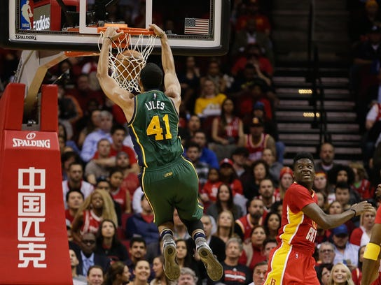 Trey Lyles scored a career-high 13 points against the