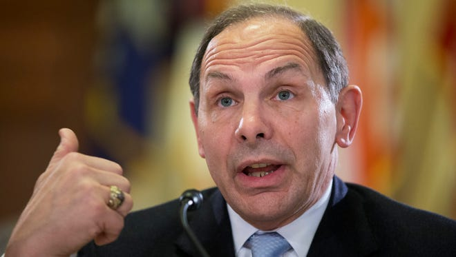 Veterans Affairs Secretary Robert McDonald has been criticized for continuing to give out bonuses at the troubled agency