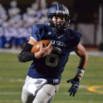 Hudson quarterback Mitchell Guadagni threw for two touchdowns and ran for a touchdown in a 41-20 playoff defeat of Mentor. The Explorers are now No. 22 in the Super 25 high school football rankings