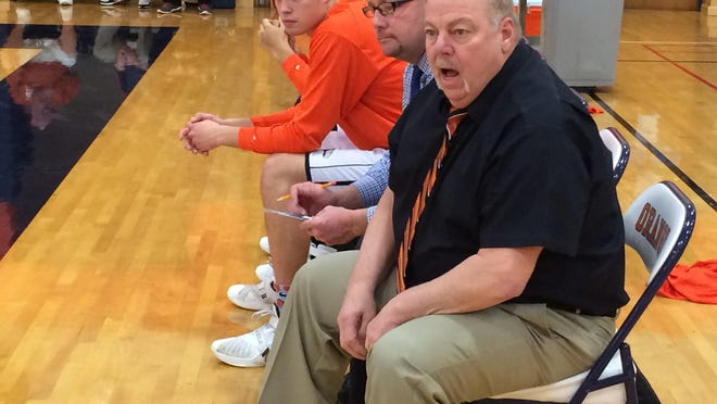 Joe Detz spent nearly 35 years coaching basketball in the area, with his last stop coming at SUNY Orange, above. Detz has died from coronavirus.