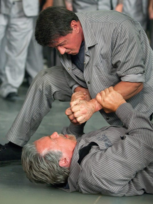 Stallone, Schwarzenegger in 'Escape Plan'
