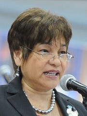 Speaker Judith Won Pat, D-Inarajan