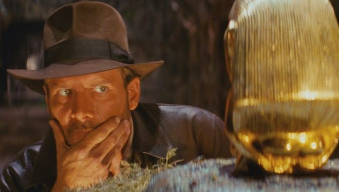 Harrison Ford is back as Indiana Jones with Steven Spielberg directing, Walt Disney Studios announced Tuesday. The fifth 'Indiana Jones' movie will hit theaters July 19, 2019.