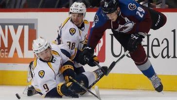 Johansen, Watson help Predators beat Avalanche 5-3