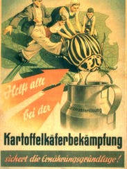 German educational and propaganda posters warned about