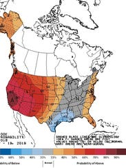 The latest 8-to-14-day temperature outlook.