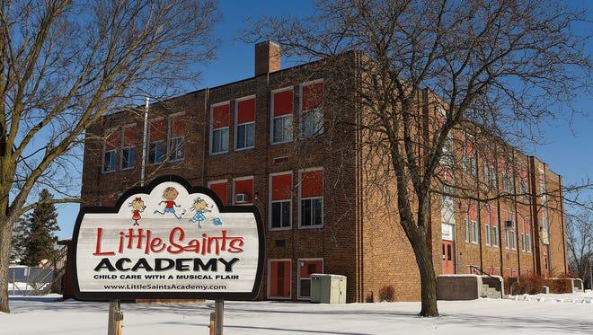 The former Wilson School building shown Wednesday, Feb. 21, along Ninth Avenue North.