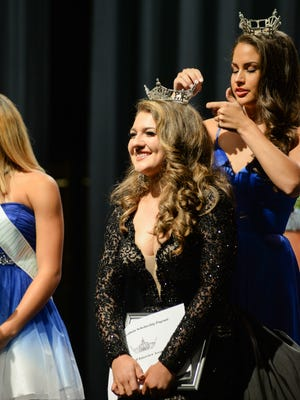 Chloe Hubbard is crowned Miss Gallatin 2019 during the Miss Gallatin Scholarship Pageant at Gallatin High School on Sunday, Aug. 26.