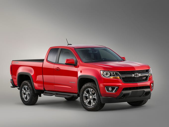 General Motors Co. is revealing a new 2015 Chevrolet