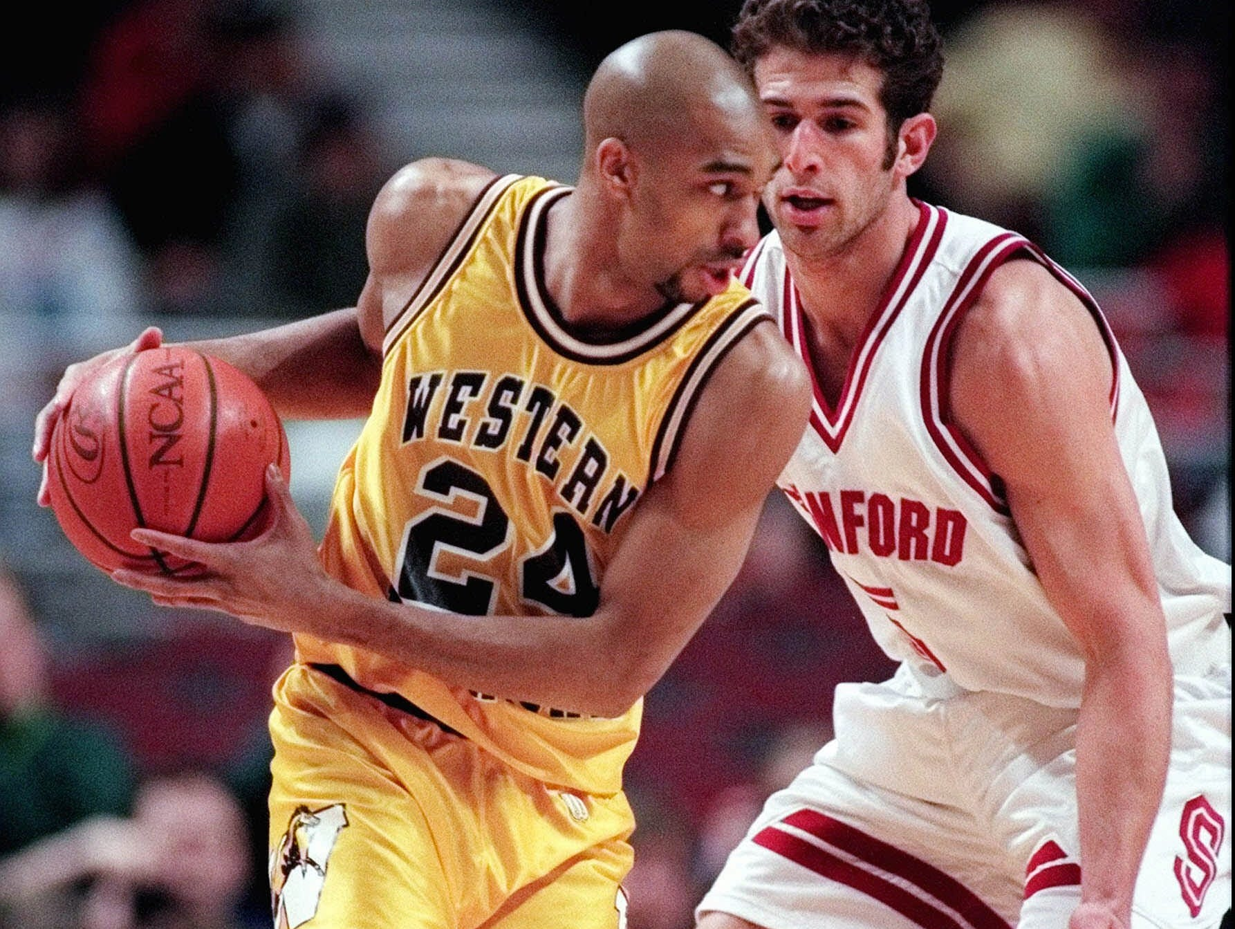 Saddi Washington helped Western Michigan reach the second round of the NCAA tournament in 1998.
