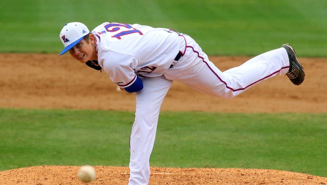 Louisiana Tech's Tyler Clancy has been named the Conference USA Pitcher of the Week.