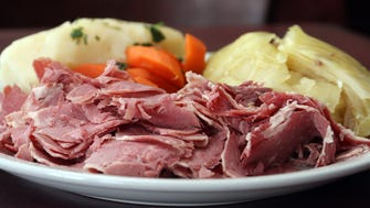 St. Patrick's Day isn't complete without a platter of corned beef and cabbage.
