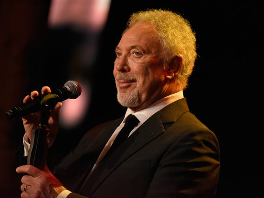 Tom Jones appears at the GQ Men of the year Award 2015