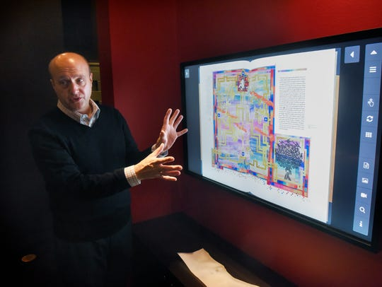 Hill Museum & Manuscript Library Director Tim Ternes