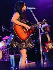 Artist Kacey Musgraves performs at the Opry House on New Year's Eve.