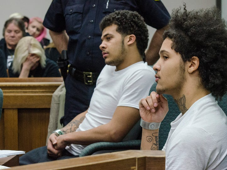 Defendants Dominik Lou Charleston and Kobi Austin Taylor