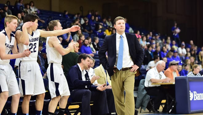 Coach Jason Bell and his Front Range Baptist boys basketball team took third place in the Class 1A state tournament. The  Falcons beat Creede 78-52 in the third-place game Saturday.