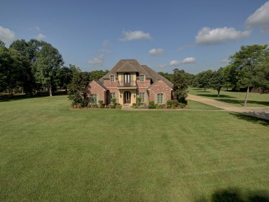 This home at 359 Choctaw Road sits on 2.5 acres of