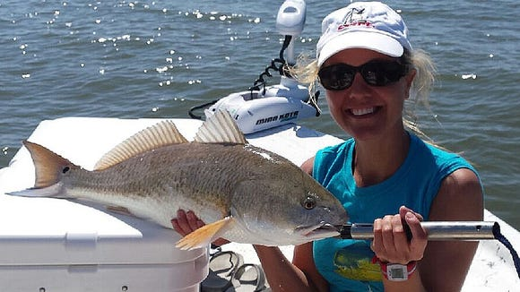Big trout and plenty of redfish are biting.