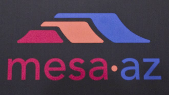 The City of Mesa logo.
